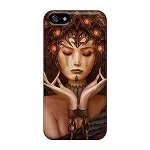 Hot Dark Princess First Grade Tpu Phone Case For Iphone 5/5s Case Cover