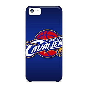 Protective Hard Phone Case For Iphone 5c With Provide Private Custom Trendy Cleveland Cavaliers Skin DannyLCHEUNG