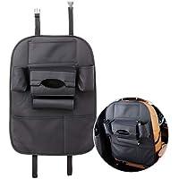 Letar 7 Pocket PU Leather Back Car Seat Organizer