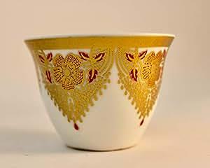 Arabian Cawa cup porcelain 12pcs sets