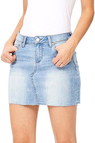 mini jean skirt - 5