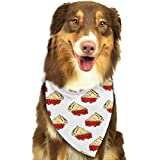 mint pie - Heart Yan Pie Mint Dog Bandana Triangle Bibs Bright Coloured Scarfs Accessories for Dogs Pet Cats and Baby Puppies Bow Tiess