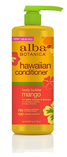 Alba Botanica Conditioner (Alba Botanica Hawaiian Conditioner, Mango, 32 Ounce)