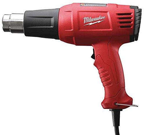 Milwaukee Heat Gun, 100 to 1040F, 11.6A, 20 cfm (Milwaukee Variable Temperature Heat Gun)