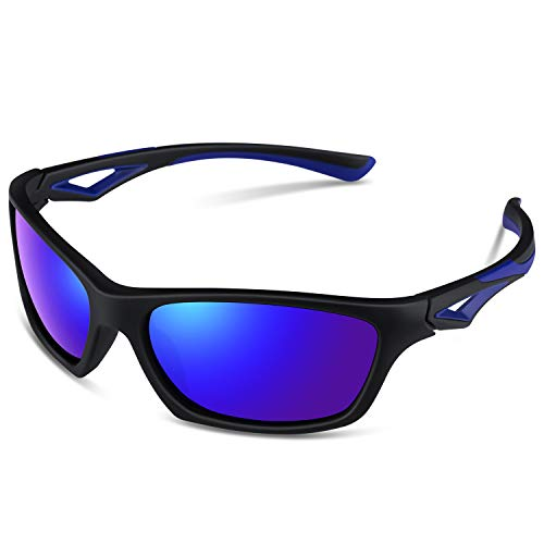 TPEE Unbreakable Polarized Kids Sports Sunglasses with Adjustable Strap For Boys Girls Age 3-7