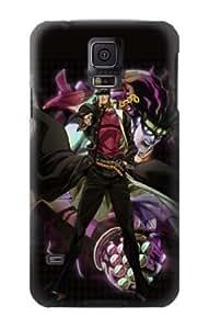 S1719 Jojo Bizarre Adventure Kujo Jotaro Case Cover For Samsung Galaxy S5