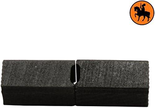 2.4x2.4x4.3 Balais de Charbon pour BLACK /& DECKER P2172-6,3x6,3x11,5mm