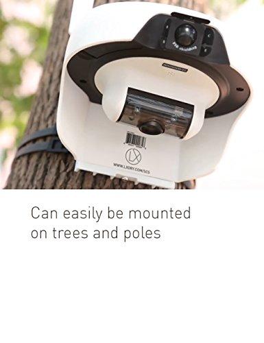 Lxory Solar Powered Wireless Outdoor Wifi Surveillance