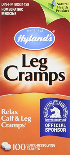 Hyland's Leg Cramp Tablets, Natural Relief of Calf, Leg and Foot Cramp, 100 Count (Relief Tablets 100)