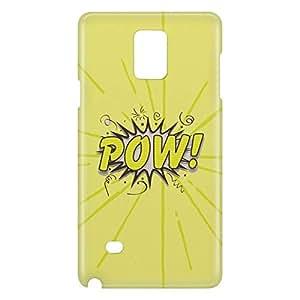 Loud Universe Galaxy Note 5 Comic Pow Print 3D Wrap Around Case - Yellow