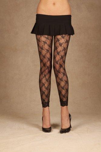 ELEGANT MOMENT 1764Q Lace leggings.