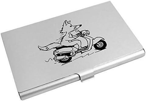 Vos Rijdende Scooter VisitekaarthouderCreditcard Portemonnee CH00018852