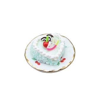 DERKOLY - Juego de 2 moldes para decoración de Pasteles, diseño de casa de muñecas: Amazon.es: Hogar