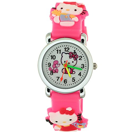 TimerMall Trendy Water Resistant Round Dial Analogue Football Parttern Children's Watches