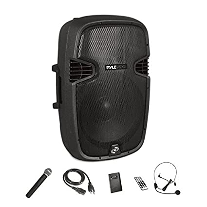 Amazon.com  Wireless Portable PA Speaker System - Compatible with ... 5e6d225ba1471