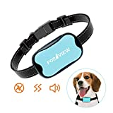 Best Anti Bark Collars - POP VIEW Dog Anti Bark Collar, Small, Medium Review
