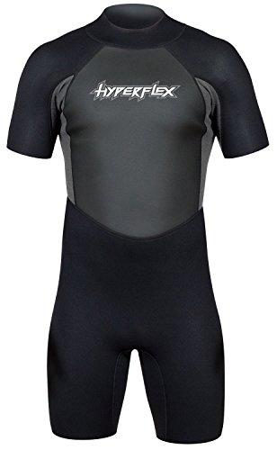 Hyperflex Mens Access Series - Hyperflex Men's ACCESS 2.5mm Back Zip Spring Suit - (Gray, Small)