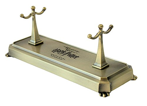 (Wizarding World of Harry Potter Double Wand Stand w/ Logo Metal)