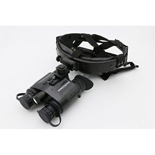 NightStar Night Vision 1x20mm Head Mounted Binoculars, w/