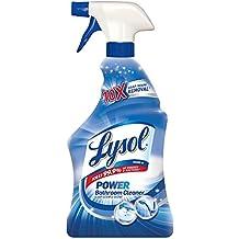 Lysol Power Bathroom Cleaner Spray, Powers Through Soap Scum, 28oz