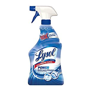 Amazoncom Lysol Power Bathroom Cleaner Spray Powers Through Soap - Household bathroom cleaners