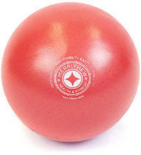 STOTT PILATES Mini Stability Ball XSmall 5 inch (Red) ST-06215 Accessory Consumer Accessories