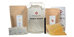 Kombucha Brooklyn Home Brew Super Kit - 1 Gallon