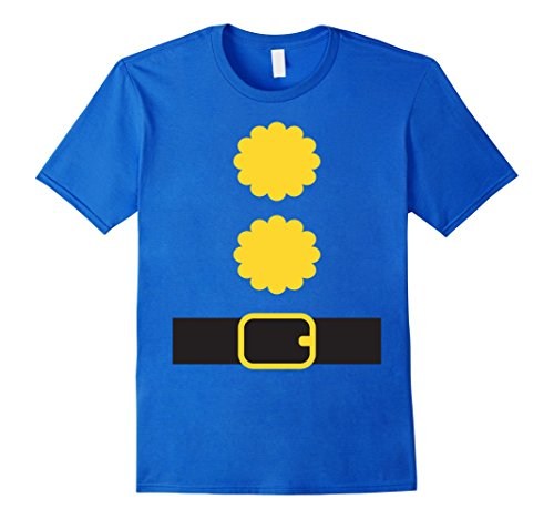 [Mens Halloween Dwarf Costume Shirt Dwarf DIY Costume Teacher Team Medium Royal Blue] (Office Themed Halloween Costume Ideas)