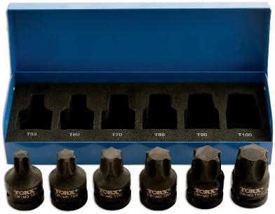 Laser 4947 - Juego de llaves de vaso con punta de estrella para ...