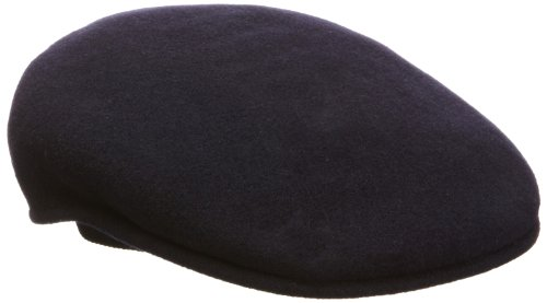 Kangol Men's Wool 504 Cap, Dark Blue, X-large