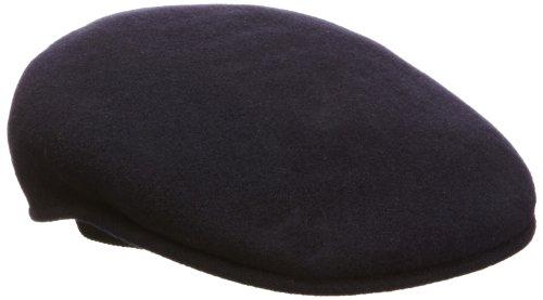 Kangol Men's Classic Wool 504 Cap, Our Most Iconic Shape, Dark Blue (Medium) -