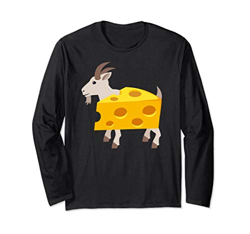 Goat Cheese Costume Novelty Funny Pun Long Sleeve -