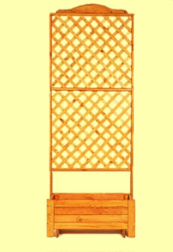 PROMEX Pflanzkasten Rankkasten Romantica 80 x 200 cm
