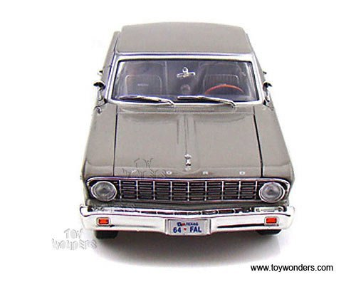 92708sv Yatming - Ford Falcon Hard Top (1964, 1:18, Silver) 92708 Diecast Car Model Auto Vehicle Die Cast Metal Iron Toy Transport Ford Falcon