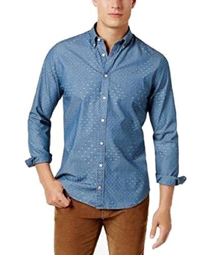 Tommy Hilfiger Men's Multi-Pattern Oxford Shirt - Tommy Hilfiger Oxford Shirt