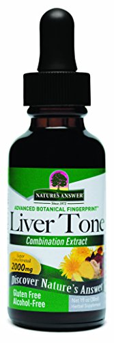 Natures Answer Liver - Nature's Answer Alcohol-Free Liver Tone, 1-Fluid Ounce