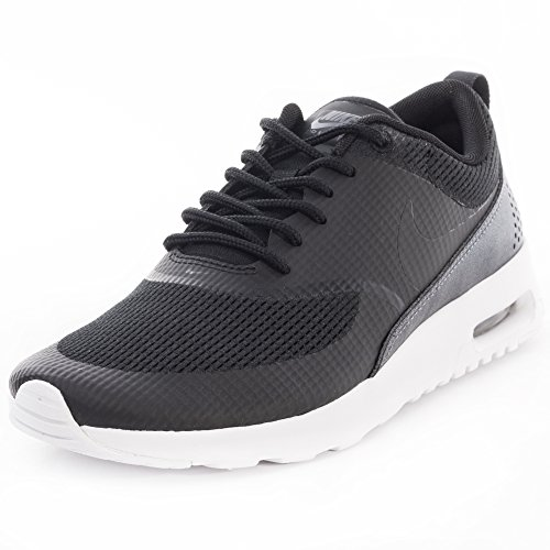 Nike Air Max Thea Textile Womens Shoe, Damen Sneakers Schwarz (Black/Black)