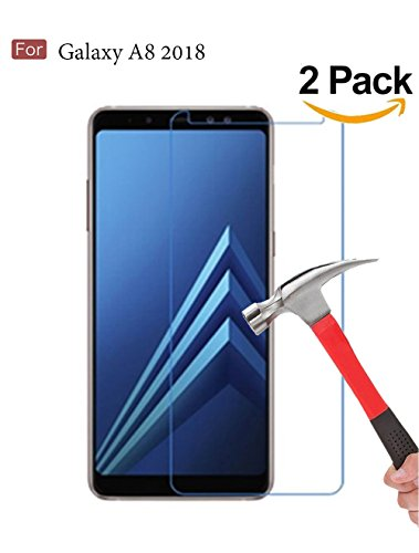 Tempered Glass Screen Protector for Samsung Galaxy A8 (Clear) - 6