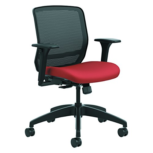 HON QTMMY1ACU42 Quotient Series Mesh Mid-Back Task Chair, Poppy by HON