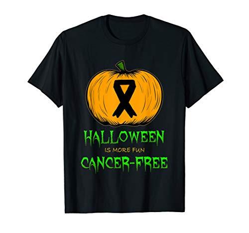 Breast Cancer Pumpkin Carving Halloween Pink Ribbon Clip Art T-Shirt -