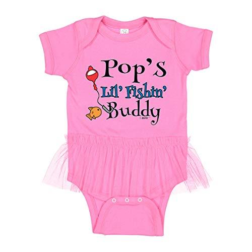 Baby Tutu Bodysuit Fishing Baby Baby Fishing Gifts Pops Lil Fishin Buddy Tutu Bodysuit 6 Months Raspberry
