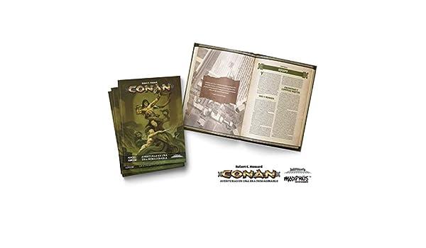 Holocubierta- Conan Libro básico, Color (HOLCON01): Amazon.es ...
