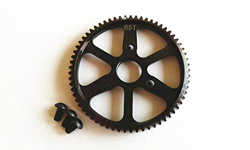 - HARD STEEL 65T SPUR MAIN GEAR For 1/10 RC CAR SUMMIT & E-REVO 5603 5605 5608 5607 #3960