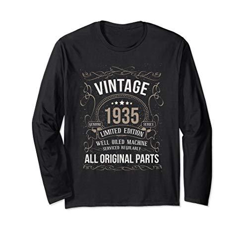 Vintage 1935 All Original Parts Funny Shirt