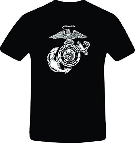 [Marine Corps devil Dogs, Best Quality Costum Tshirt (3XL, BLACK)] (Devil Costums)