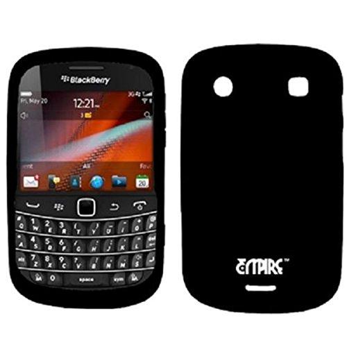 EMPIRE Black Silicone Skin Case Cover for BlackBerry Bold 4G ()