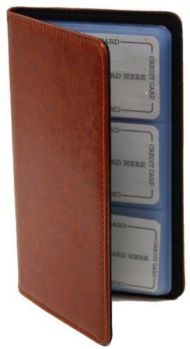 72 Count Credit Card/business Card Holder (Tan)