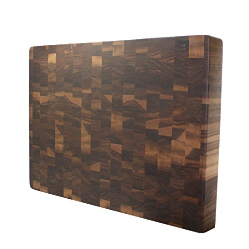 Kobi Blocks Walnut End Grain Butcher Block Wood Cutting Board 12
