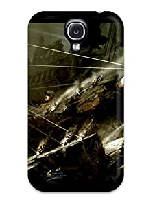 Durable Defender Case For Galaxy S4 Tpu Cover(avengers)