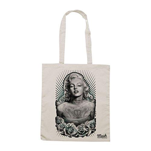 Borsa Modern Marilyn - Panna - Famosi by Mush Dress Your Style
